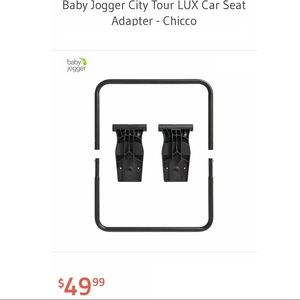 Baby jogger city tour lux car seat adapter